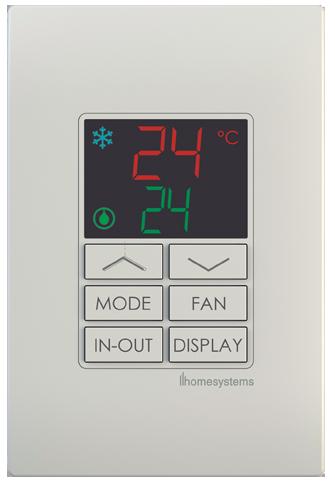HVAC Keypads